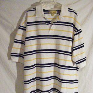 PJ Mark Polo Shirt Striped Multicolor 2XL